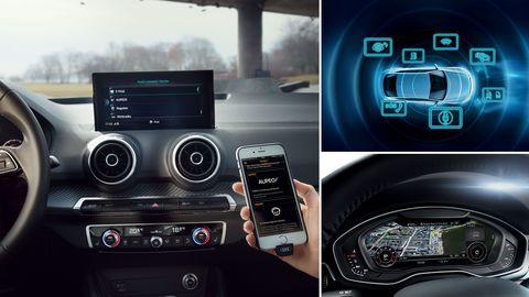 Les systèmes d'info divertissement de voiture disponible en 2020