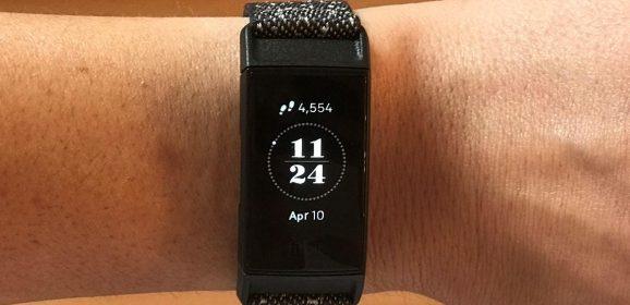 Test sur le Fitbit Charge 4